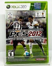 PES Pro Evolution Soccer 2012 - Xbox 360 - Brand New   Spanish/Portuguese