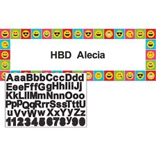 Emoji Character Icons Party Custom Banner Personalized Birthday Event Expression