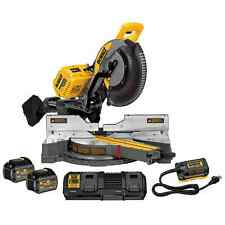 "DeWalt DHS790AT2 120V MAX FlexVolt Cordless Brushless 12"" Sliding Miter Saw Kit"