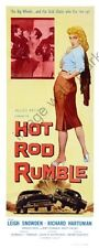 Hot Rod Rumble Movie Poster Insert #01 Replica