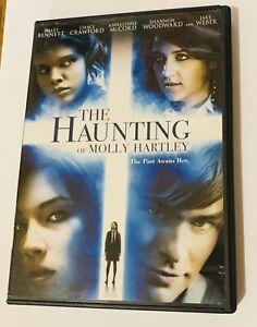 THE HAUNTING OF MOLLY HARTLEY DVD 2009 WIDESCREEN HALEY BENNETT JAKE WEBER