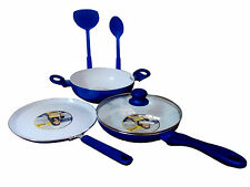 JAYPEE NONSTICK INDUCTION BASE CERAMIC CERAKUK SET OF 3 (KADHAI, TAWA & FRY PAN)