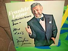 Frankie Laine Reflective Years signed   LP