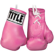 "Title Boxing 3.5"" Authentic Detailed Mini Lace Up Gloves"
