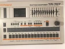 Vintage Roland TR-707 Analog Drum Rhythm Machine Sequencer Rhythm Composer
