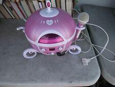 DISNEY - Princess Carriage Cd Player Sing Along Karaoke Boombox  - Model P550BSA