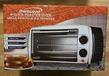 (New) Brentwood Ts-345B Toaster Oven