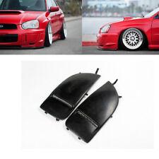For Subaru Impreza STI WRX 04-05 Front Side Fenders Fog Light Lamp Cover Refit