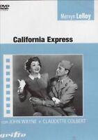 California Express 1946 DVD Nuovo Sigillato John Wayne Claudette Colbert LeRoy