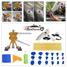 28pcs Car Paintless Dent Repair Dint Hail Damage Remover New Puller Lifter Kit