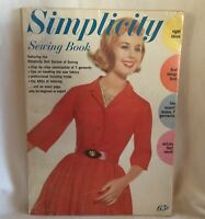 Vintage 1962 Simplicity Sewing Book