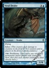 1 FOIL Viral Drake - Blue New Phyrexia Mtg Magic Uncommon 1x x1