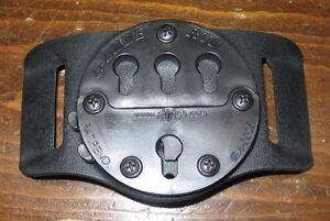 "eagle industries G-CODE RTI wheel 1.75"" belt slide holster mount black kydex hip"