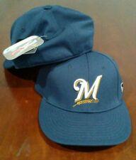 New Adult MLB Milwaukee Brewers FlexFit Cap Hat Large/X-Large - PMJS