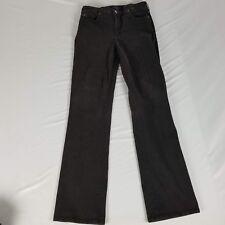 NYDJ Womens Jeans Size 8 Black Faded Look Straight