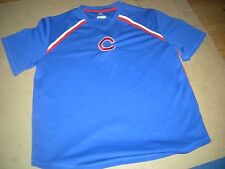 Chicago Cubs V-Neck Blue Medium/Large Warmup Jersey,REAL QUALITY and RIGHT PRICE