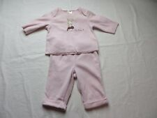 Gymboree Baby Girls Pant Outfit Pink Long Sleeve Bunny Details 3 - 6  Mos #6896