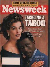 Newsweek 1991 Interracial Romance, Spike Lee, Murder Capitals FREE SHIPPING!