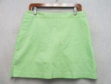 D7878 Adidas Green Polyester Blend High Grade Skorts Women's 32x15
