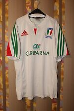 ITALY NATIONAL RUGBY UNION TEAM ADIDAS JERSEY SHIRT MAGLIA MAILLOT FIR ITALIA XL