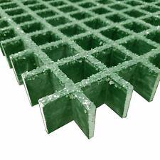 "Fiberglass Square Hole Grating, 1.5"" x 11"" x 48"" (1.5"" x 1.5"" Holes Centers)"