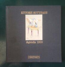 ETTORE SOTTSASS, Agenda 1990, L'Archivolto, 1990 con opera grafica firmata e num