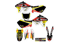 Suzuki RM 125-250 01-12 graphic kit 2001 to 2012 decals stickers  mxgraphics