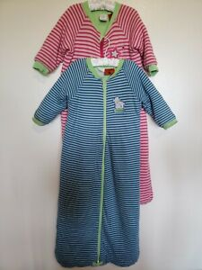 2 x SNUGTIME Sleep Sack / Suit / Bags (Size 2) 2.5 Tog & 3.5 Tog, Excellent Cond