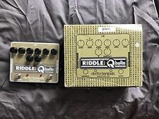 Electro Harmonix Riddle Q Balls Guitar Funk Effects Pedal