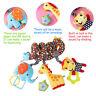 Baby Kinderwagenkette Spielzeug Hund Katze Krippe Rassel Spirale Greiflinge neu