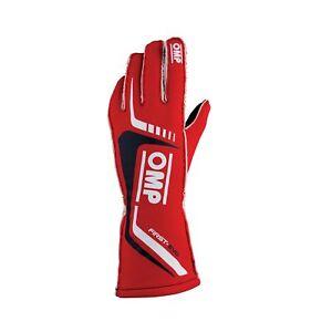 OMP FIRST-EVO Racing Gloves | FIA 8856-2018 Holomogation | IB/767