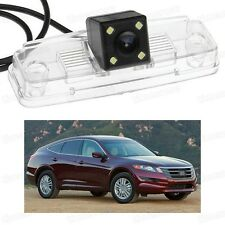 4 LED Car Rear View Camera Reverse Backup CCD for Honda Crosstour 2011 12 13 14