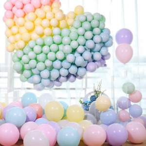 """5"""" 11""""12"""" Matte  Pastel Latex Balloons Colours  Wedding Birthday Party"""