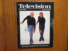 Nov. 20, 1988 Detroit News TV  Mag(BARRY VAN DYKE/DICK VAN DYKE/DIAGNOSIS MURDER