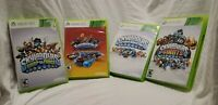 4 Game Lot Skylanders Swap Force Superchargers Giants Spyros Game Only Xbox 360