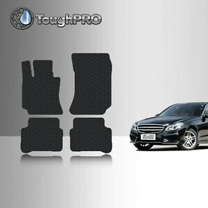 ToughPRO Floor Mats Black For Mercedes-Benz E Class Sedan All Weather 2010-2016