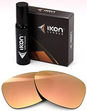 Polarized IKON Replacement Lenses For Ray Ban Boyfriend RB4147 60MM Rose Gold