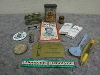 Lot of Vintage Advertising Items-Planters Peanuts-Baseball-Camel-Tins +