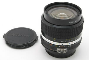 【TOP MINT】Nikon Nikkor Ai-s Ais 24mm f/2 Wide Angle MF Lens From JAPAN