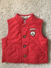 Janie and Jack Boys 6 - 12 mo Little Scout Quilted Vest