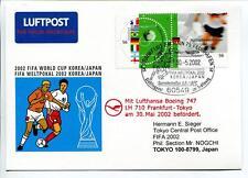 FFC 2002 Lufthansa Special Flight Calcio Football FIFA Korea Giappone Tokyo