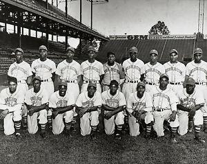 1945 Kansas City Monarchs - Negro League (Jackie Robinson - RY), 8x10 B&WPhoto