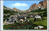 Dolomiti Italien AK CORTINA Wohnhäuser Cartolina ~1960 alte Postkarte Südtirol