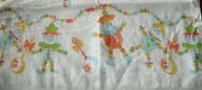 VINTAGE BABY RECEIVING BLANKET PUPPETS CLOWNS & RATTLES
