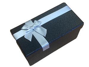 Dark Grey Dubai Range Cardboard Gift Box Watches Jewellery Box Free Postage Gift
