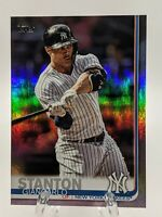 GIANCARLO STANTON 2019 Topps Series 2 RAINBOW FOIL - NEW YORK YANKEES - SHARP!