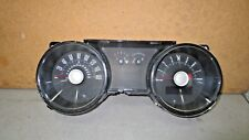 11 12 13 FORD MUSTANG GT INSTRUMENT CLUSTER GAUGES UNIT 7K MILES V8 6-SPD USED