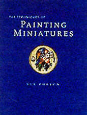 TECHNIQUES OF PAINTING MINIATURES by Sue Burton, Hardback 1st Edition Free Post!
