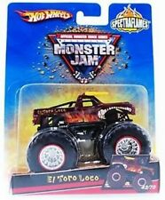 Hot Wheels El Toro Loco 2007 Monster Jam Truck Series NIB Mattel 43/70 NIP