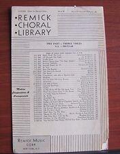 Shine On Harvest Moon - 1944 Sheet music-  Piano Vocal SA or TB